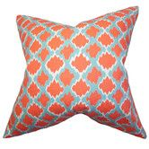 Found it at Wayfair - Welcome Geometric Cotton Throw Pillow