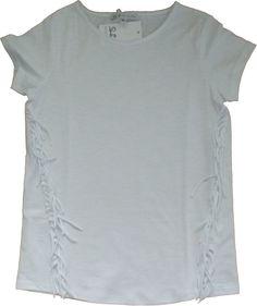 Patrizia Pepe T-shirt with fringes