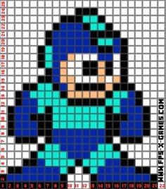 Megaman Minecraft building idea