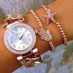pretty pink watch