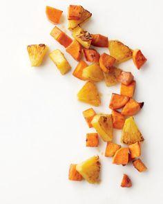Roasted Sweet Potatoes and Pineapple Recipe