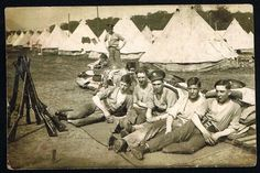WW1 real photo, soldiers, MIDDLESEX REGIMENT, postcard | eBay