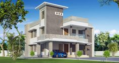 Gallery of Kerala home design, floor plans, elevations, interiors designs and other house related products Kerala House Design, Modern House Design, Kerala Houses, House Plans, Floor Plans, Flooring, How To Plan, Mansions, Interior Design