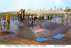 Childrens Village, Ontario Place by Striderv, via Flickr Ontario Place, My Town, Back In Time, Places Ive Been, Toronto, Nostalgia, Canada, Urban, History