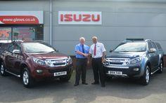 The deal is done! Isuzu comes to Glews Garage, Goole, East Yorkshire East Yorkshire, Finance, Garage, Carport Garage, Garages, Economics, Car Garage, Carriage House