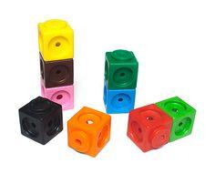 Cubos Jumbo Mathlink, 50 u.