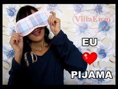 RECEBIDO: Pijama Villa Enzo (amei) | Luciana de Queiróz