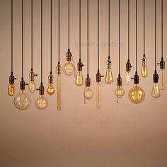 E27 Edison bombillas Vintage luces pendientes lámpara accesorios de iluminación Industrial lustre cobre Luminaria sostenedor entrega + Base + 1 M alambre