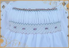 Free English Smocking Patterns | ! This is the smocking plate given with the FREE smocked top pattern ...