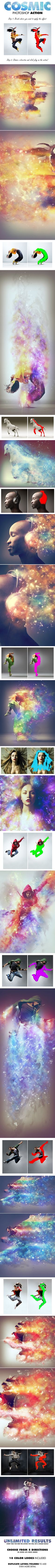 Cosmic Photoshop Action by DanielChambers on DeviantArt