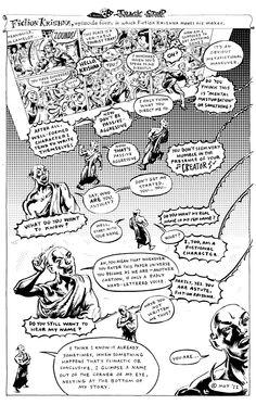 T. Motley, cartooniologist: Fiction Krishna 4