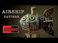 (7) How to Make a Steampunk Airship Christmas Tree Decoration - YouTube