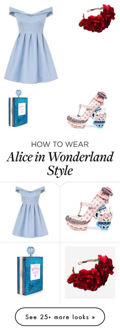 """""""The mis-matched fairytale"""" by cindrellstar02 on Polyvore featuring Irregular Choice, Chi Chi and Rock 'N Rose"""