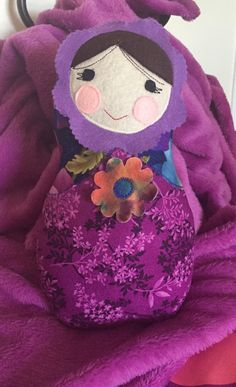 "New!!!!!! Matryoshka (nesting) dolls that I am calling Anastasia Dolls. 12"" tall, new fibrefill stuffing, beautiful cotton fabrics used. Great Christmas gift!!  $25."