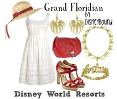 Grand Floridian Resort and Spa has these same exact colors and style :) I want this outfit so bad!