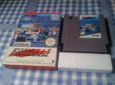 Formula 1 Sensation F1 Juego para Nintendo NES PAL con Caja