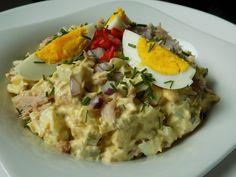 Risotto, Potato Salad, Salads, Food And Drink, Potatoes, Eggs, Treats, Breakfast, Ethnic Recipes