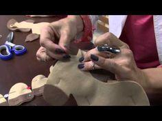 Mulher.com 17/09/2014 - Cavalinho Articulado Feltro por Karina Raszl - Parte 1 - YouTube