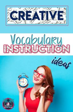 Creative ideas and activities for teaching vocabulary in middle and high school. Differentiated, brain-based learning for twenty-first century students. Vocabulary Instruction, Academic Vocabulary, Teaching Vocabulary, Differentiated Instruction, Vocabulary Activities, Teaching Strategies, Teaching Resources, Teaching Tools, Communication Activities