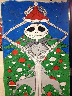 Christmas Door Decorating Contest - Nightmare Before ...