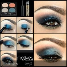 Incredible look with the fabulous #vegas_nay Get the look with Motives