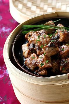 I'm going to make Steamed Spareribs with Black Bean Sauce later tonight. So easy. So delicious.