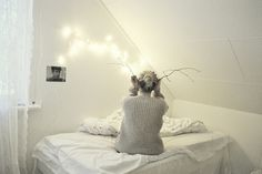 Not just for Christmas; fairy lights for every room. | Style It Like You Stole It