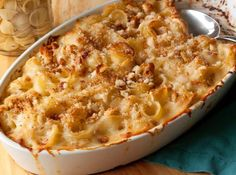 Creamy Mac & Cheese (White Cheddar, Gruyère and Swiss) Love indulgent comfort food. http://www.hgtv.com/entertaining/recipes-for-your-thanksgiving-feast/pictures/page-15.html?soc=pinterest