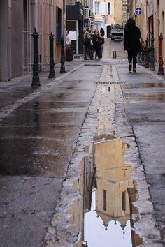 #06 Reflet dans une ruelle d'Aix
