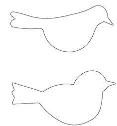 molde passarinho gaiola - Pesquisa Google