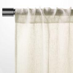 Sheer Linen Curtain