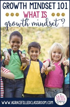"If you've heard of ""growth mindset"" but you still might be wondering what growth mindset really means, this blog post is a must-read! I've explained the term in way that is easy to understand. In my free Growth Mindset Notes, I cover these four areas and provide you with note cards that you can give to your students to continue to encourage and motivate. #AGraceFilledClassroom #GrowthMindset"