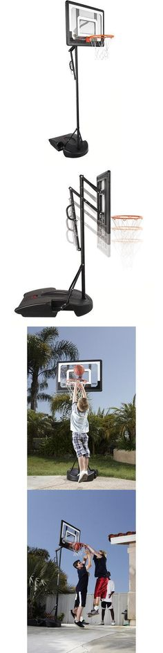 Backboard Systems 21196: Basketball Hoop System Adjustable Backboard Portable Indoor Outdoor -> BUY IT NOW ONLY: $132.06 on eBay!