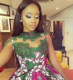 #celebrityqueen stunning @iamnini1 in dress by @celebrityqueen