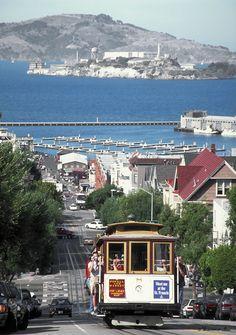 San Francisco cable cars!!