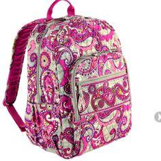 c8801629f76 Vera Bradley Campus Backpack Vera Bradley Campus Backpack In Paisley Meets  Plaid