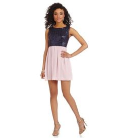 7798251302d0 Shop for B. Darlin Sequin Bodice Sleeveless Dress at Dillards.com. Visit  Dillards