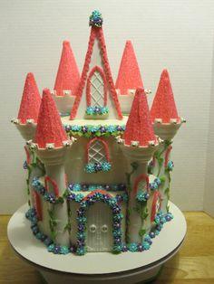 Fairy Tale Princess Castle Cake