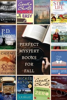 Perfect Mystery Books for Fall THESEASONAHEAD.COM