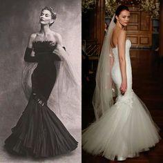 Mermaid skirt #wedding#gown