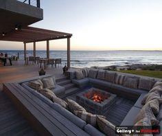 terrace/fire pit