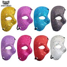 Cheap phantom of the opera, Buy Quality the mask directly from China mardi gras Suppliers: PMYUMAO The Phantom Of the Opera Half Fine Powder White Mask New Listing Mardi Gras Adult Masquerade Men Face Masks