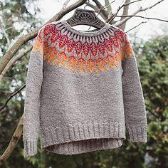 Ravelry: Arboreal pattern by Jennifer Steingass Fair Isle Knitting, Knitting Yarn, Norwegian Knitting, Sweater Knitting Patterns, Knit Sweaters, Fair Isle Pattern, Knitting Projects, Knitting Ideas, Sweater Weather