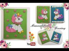 MANUALIDADES YONAIMY Pony, Frame, Ideas, Notebooks, Youtube, Decorated Notebooks, Hand Art, Jelly Beans, Invitations