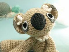 Neila the Koala - Free Amigurumi Crochet Pattern PDF Fomat here: http://www.dawntoussaint.com/downloads/DT_pattern_Neila.pdf