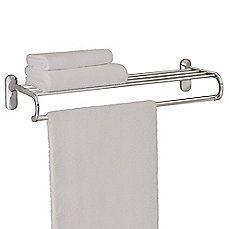 image of Taymor® 24-Inch European Towel Shelf in Chrome