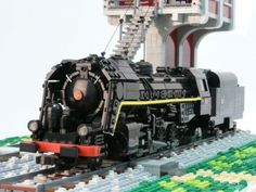 141 R 840 Mikado Steamtrain: A LEGO® creation by Richard Lemeiter : MOCpages.com