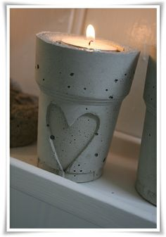 Candle Light --  Heart Candle holder