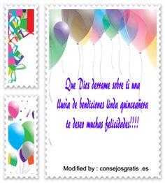 buscar mensajes co imàgenes para quinceañera,mensajes con imàgenes para quinceañera para whatsapp: http://www.consejosgratis.es/frases-cortas-para-quinceaneras/