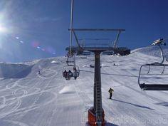 Ski slopes in Faloria, Cortina d'Ampezzo